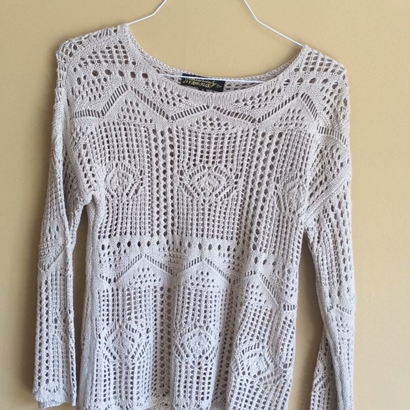 Absolutely Famous Sweaters - Beige sweater